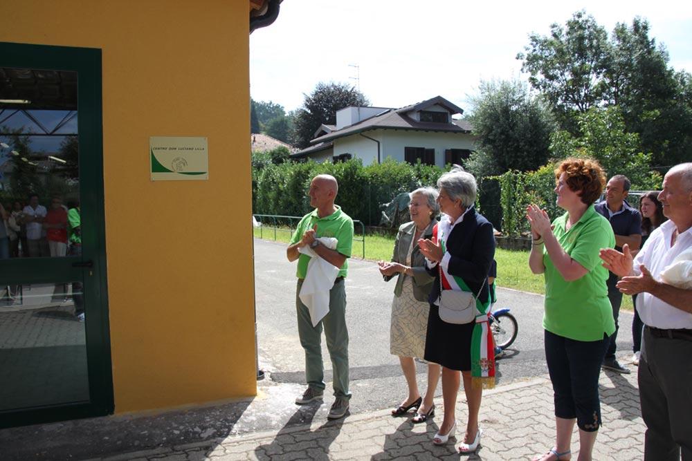 inaugurazione centro don luciano lilla borgomanero