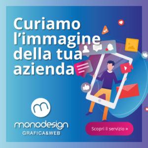 monodesign cura immagine aziendale biglietti da visita volantini comunicazione borgomanero novara